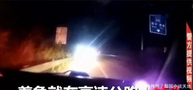 女司机高速上迷路,逆行开20多公里,说出的这话,连交警都怒了!