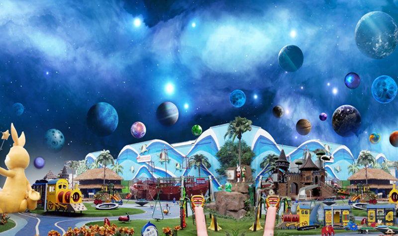 从盖板主题设计建设中读懂乐园主题乐园排水沟设计图图片