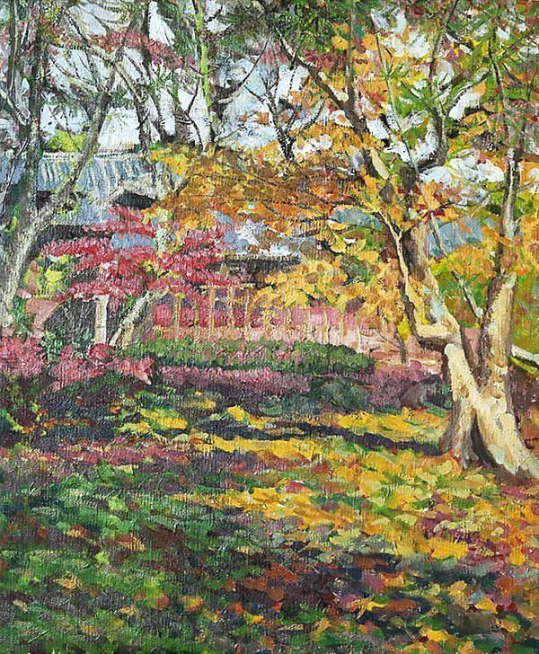 中央美院油画系美女教授林笑初油画作品欣赏图片