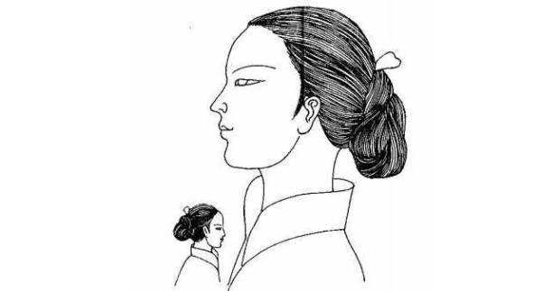 明代女子手绘大图