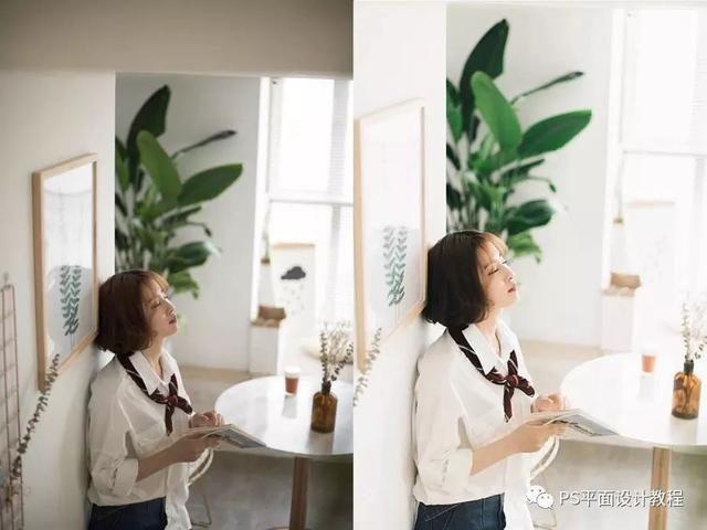PS调色藤椅给拍的美女照片调出极具教程感的时尚吊篮鸟巢v藤椅步奏图片