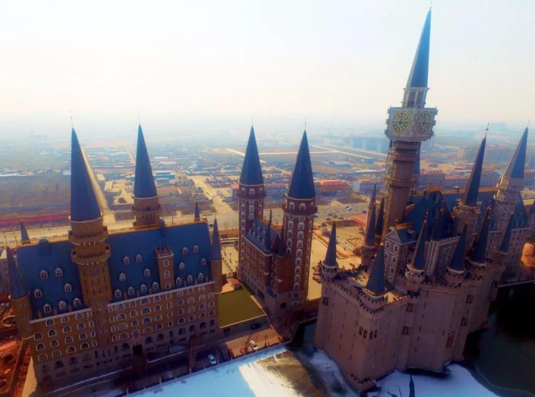 迷你世界欧式城堡
