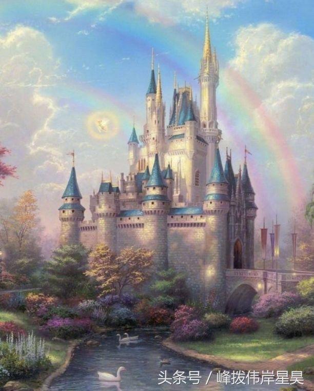 白羊座:专属梦幻城堡,看起来像远处的空中阁楼,低调中不失一丝尊贵