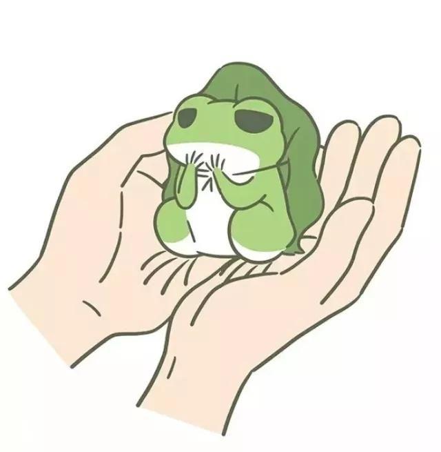 宝宝画画简单图片青蛙