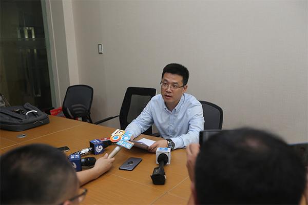 今天中午,浙江海派智能家居股份有限公司召开了简短的新闻通报会,海宁