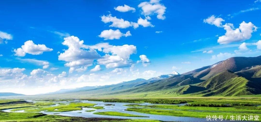 世界上最美丽的人类草原是在新疆!一个被上帝宠坏的地方!草原新疆