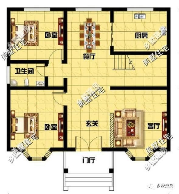 最新两间房子设计图