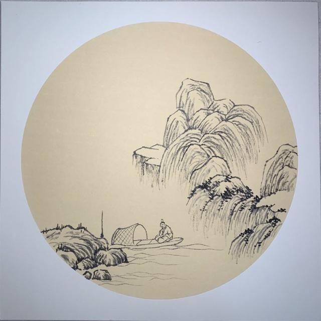 小写意山水画的高清步骤图和详细画法教程