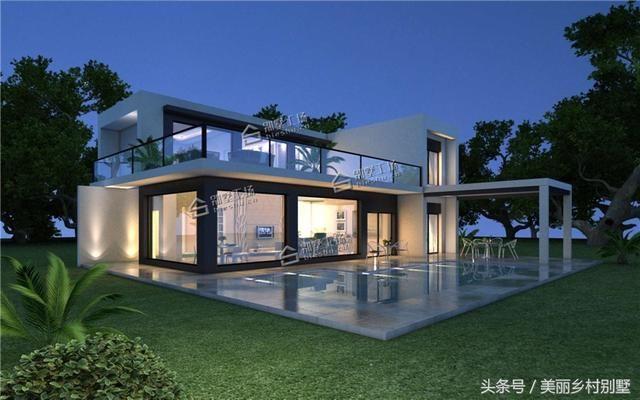 10套热门农村别墅图纸,最低造价25万,自建房也可以很洋气