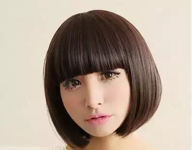a妹妹妹妹长卷时尚发型教你打造可爱短发头辣妈短发发娃娃中图片图片