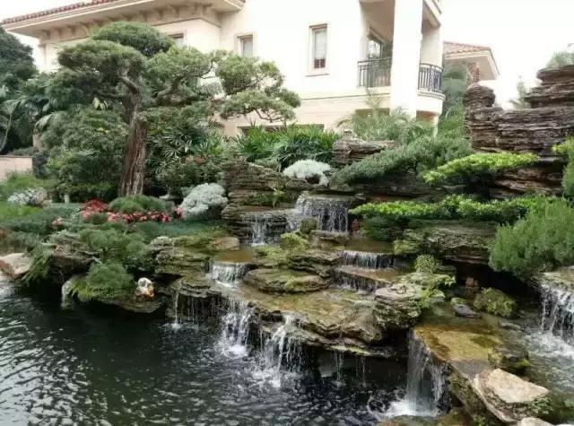 庭院设计|花园鱼池,你更喜欢中式还是日式或者是西式?