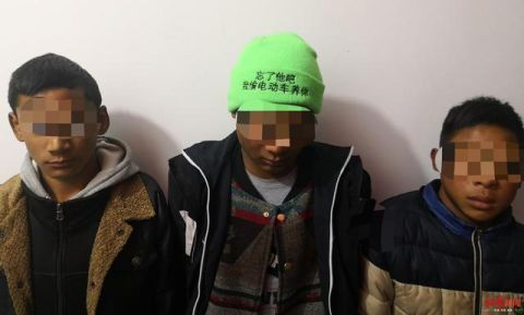 戴绿色帽子行窃被抓案件还在进一步办理当中