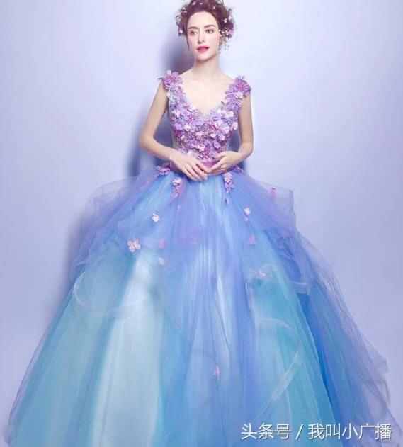 十二星座的专属公主裙,天蝎座华丽,天秤座优雅,你的呢