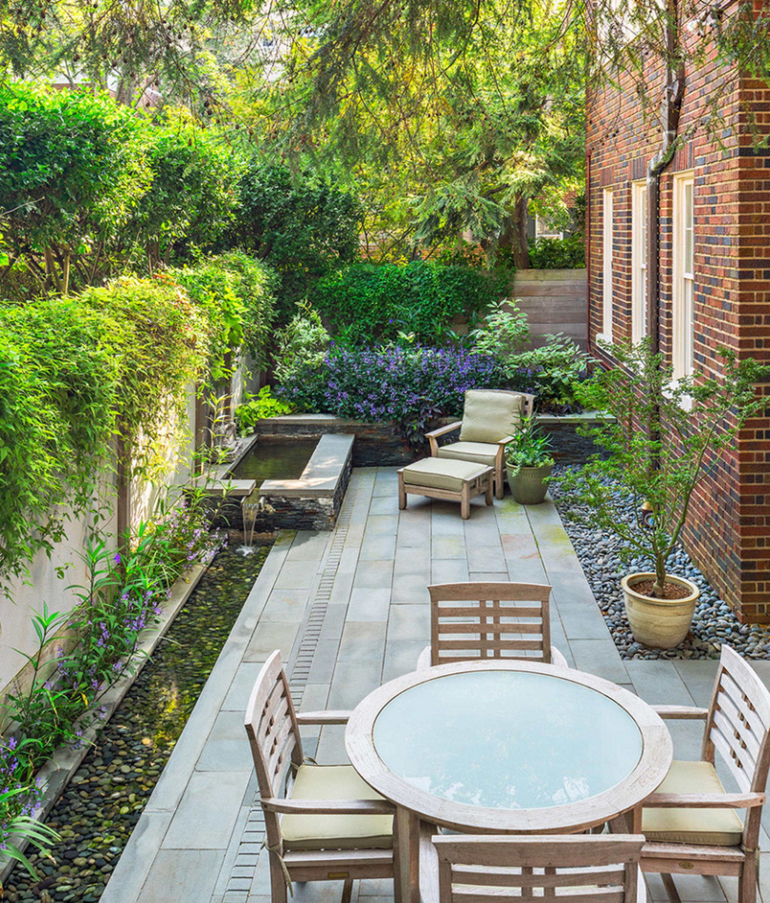"""20至30平米的一层庭院该怎么做?来看看这组""""禅境""""小花园图片"""