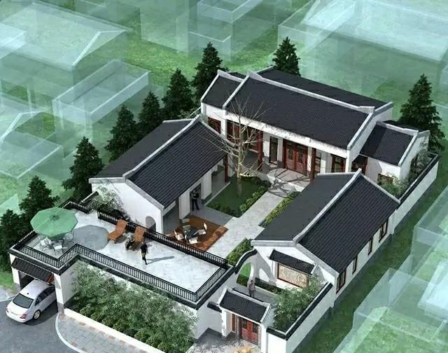 12栋中国最美四合院别墅,超美的设计,错过不要后悔