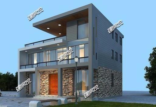 农村建房,现代风别墅才最实用,造型惊艳一级棒 农村建房.滚动