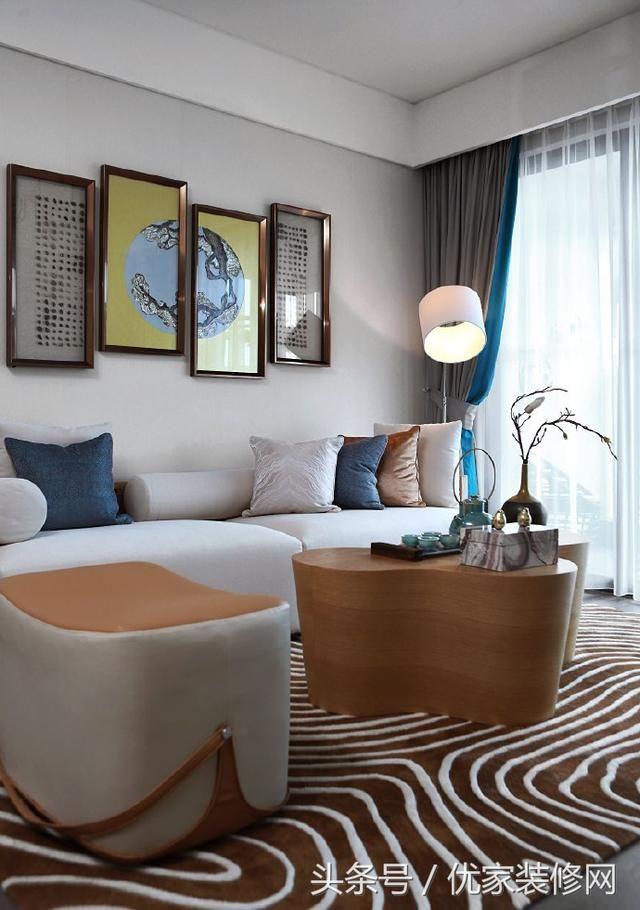 100极简新中式风格家居设计案例,化繁为简,别具韵味!