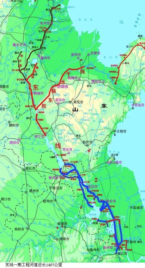 古水北镇游览地图