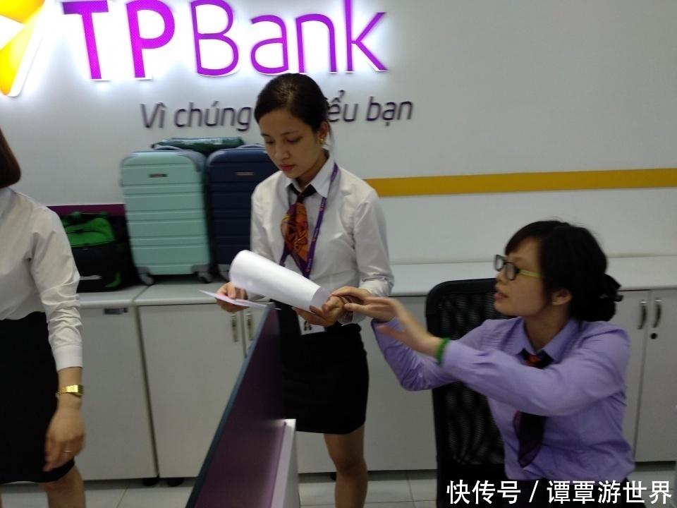 越南员工出奇的v员工,古装都是清一色的制服系银行美女髻