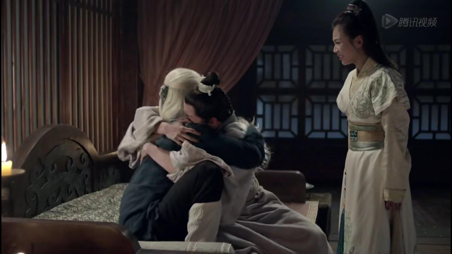 聂锋和梅长苏相认,那种惺惺相惜,大难不死相逢的喜悦.