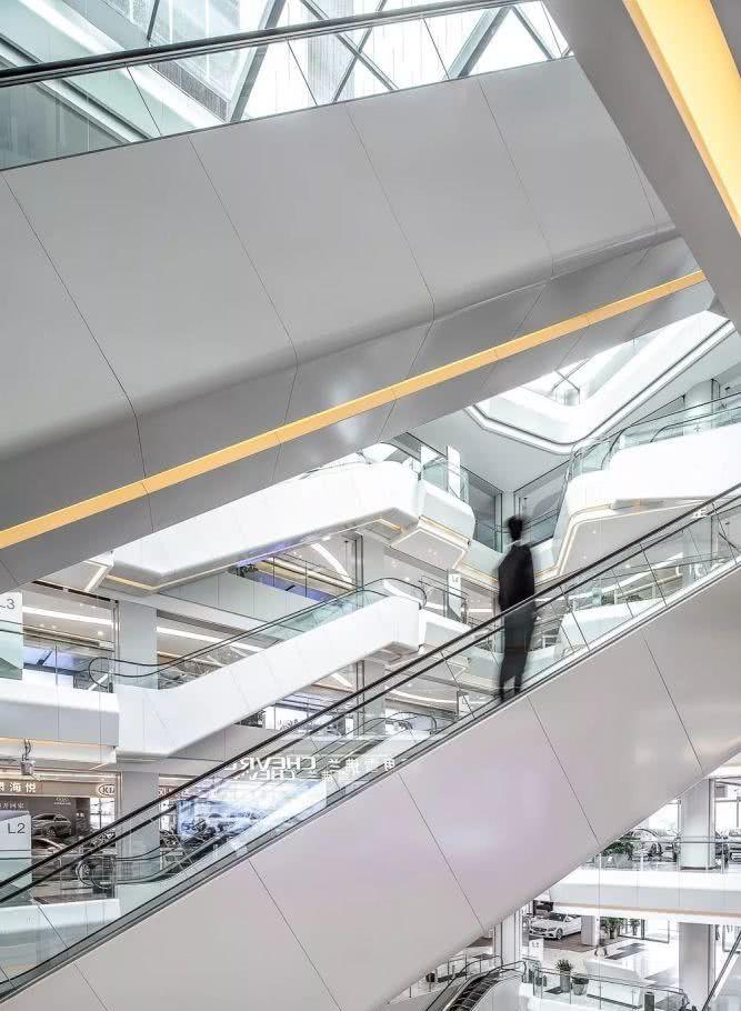 良志国际汽车城,诠释设计的相对论想装修自学设计师图片