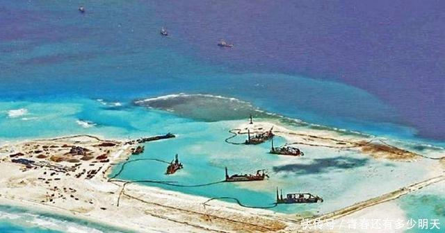 转载-我国南沙群岛第一大人工岛-美济岛-西沙群岛吹沙