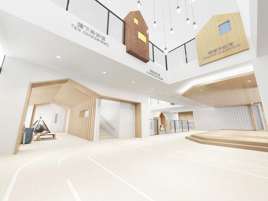 中国的\藤幼儿园设计\为何不适合日本?效果图广告招牌设计3d图片
