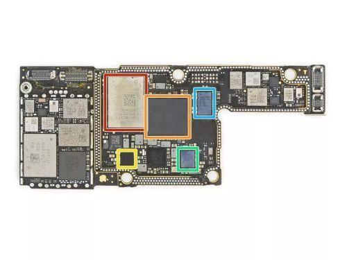 iphone xs/xs max rf主板芯片: 红色:苹果 usi 339s00551 iphone (xs
