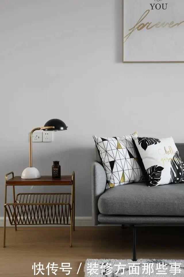 121平北欧风新房,从简的设计,却装出浪漫的格国外父亲节的平面设计图片