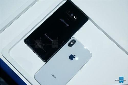 挑战苹果王者地位,三星note 9对决iphone x