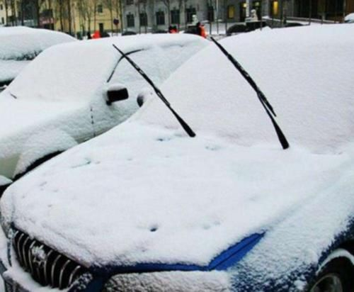 天冷了,为啥要把汽车雨刷器立起来?