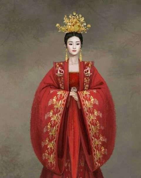 赵丽颖,迪丽热巴,张馨予古装新娘造型,美的动人