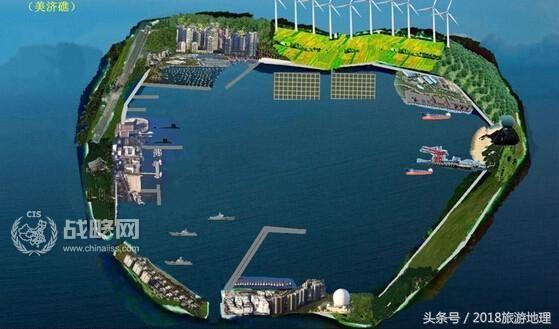 南沙群岛最新填海囹�a_转载-南沙群岛简介1010-渚碧礁