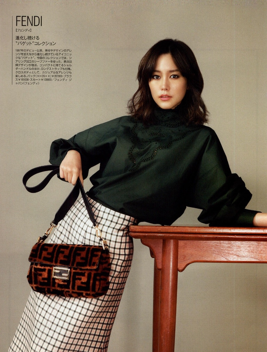 桐谷美玲拍摄杂志展示重奢名包搭配指南