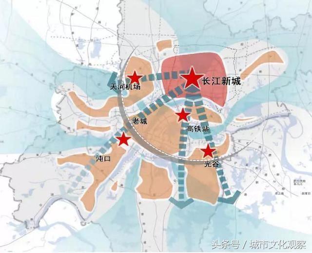 结合武汉三镇的技术力量经验,鼎立支持武汉长江新城建设图片