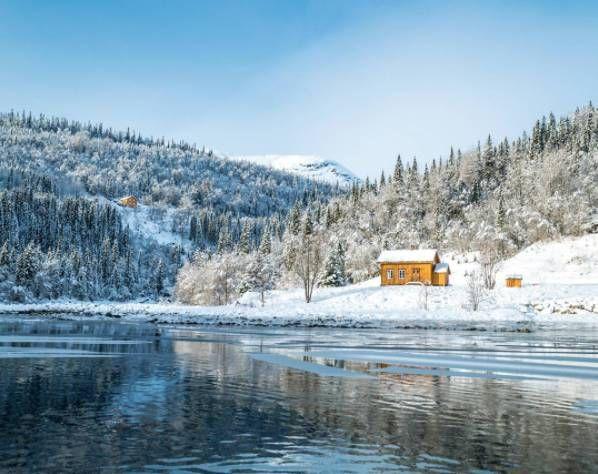 北欧海边风景图片真实