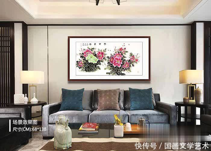 业主最爱的客厅花鸟挂画,竟是这三款客厅富贵OTA