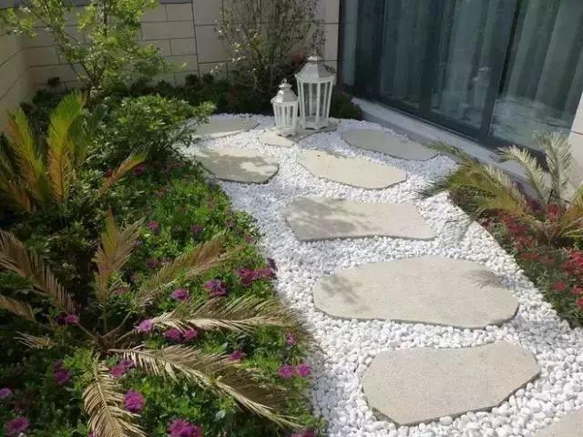中式庭院铺装,瓦片居然也能有这样的妙用图片