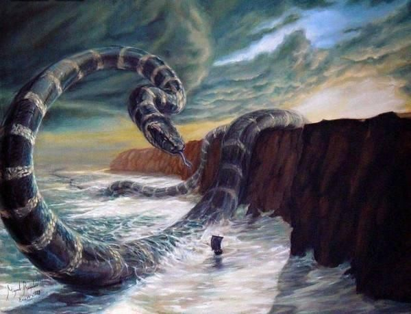 上古八条大蛇,八岐大蛇,耶梦加得,它排名第一