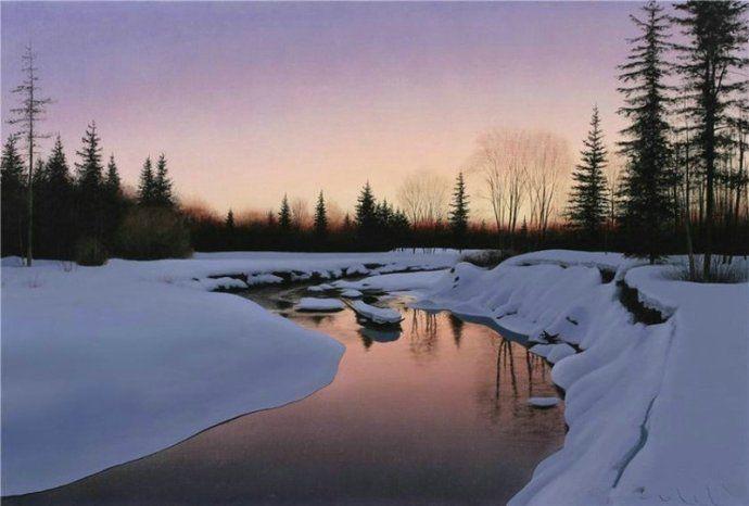 欣赏一组俄罗斯艺术家的风景绘画作品,这环境真美!