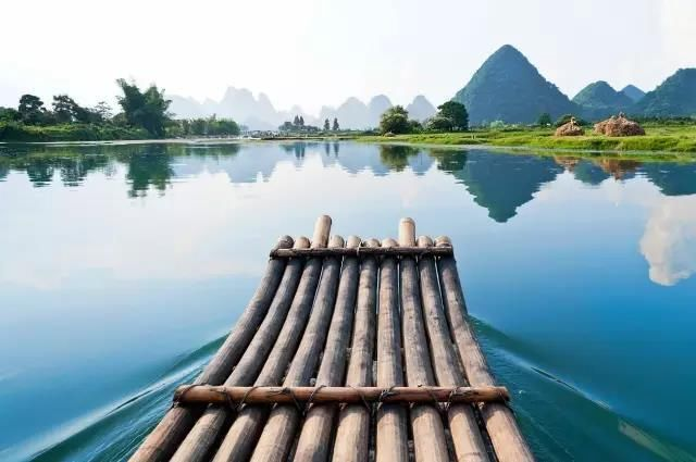 4月的桂林最为迷人,如诗如画的漓江风光,似真而幻的山水画卷.图片