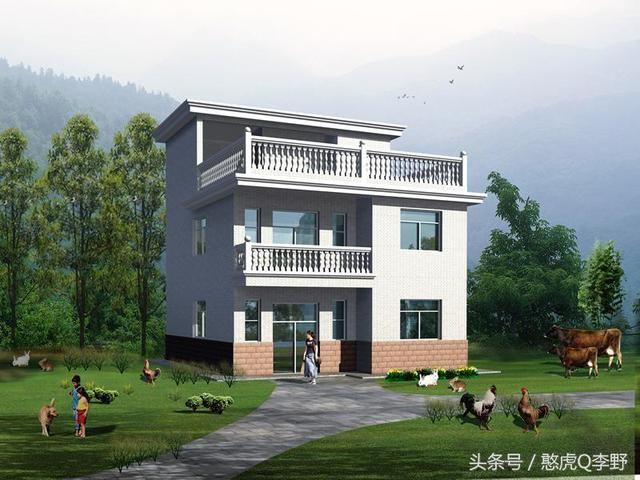别墅设计图纸及效果图大全,款款实用经典