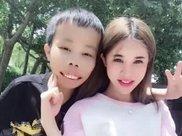 久未露面的大美人林青霞携女儿压