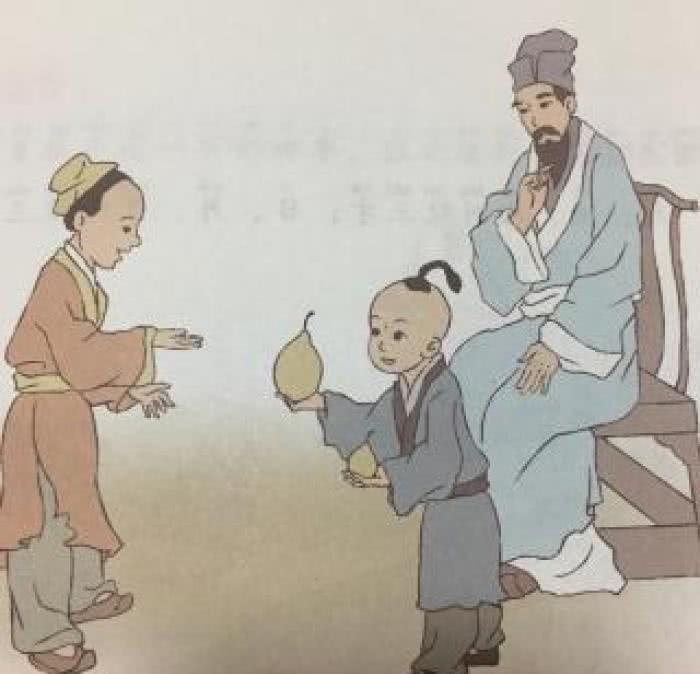 孔融@孔融4岁就让梨,长大之后怎么样了?老师不敢讲,曹操:死的不冤