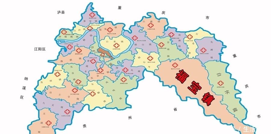 四川泸州合江县最大的镇,和贵州接壤,是历史文化名镇