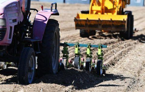 疫情挡不住春耕忙  海淀百亩油菜花田开始播种