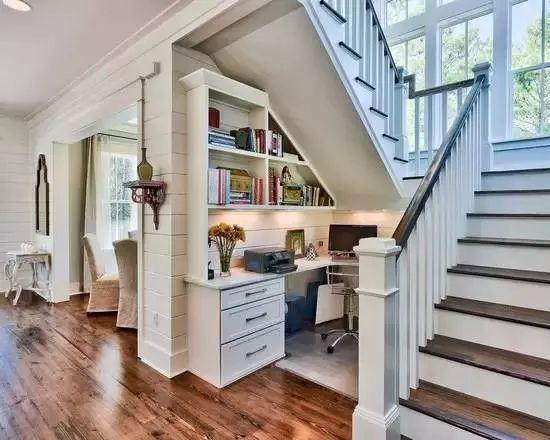 康利裝飾教你樓梯下面如何巧妙的設計和裝修施工