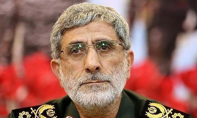 """接替苏莱马尼!伊朗最高领袖任命""""圣城旅""""新任指挥官"""