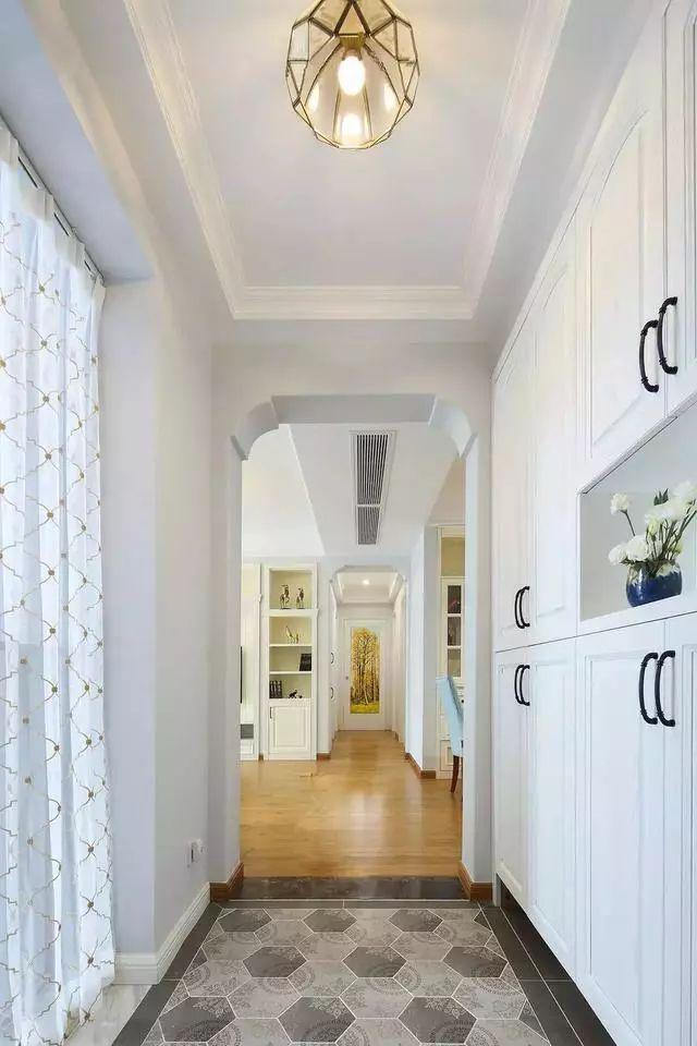新房这样装非常漂亮,收纳功能也多,一个玄关柜比衣柜还能装!