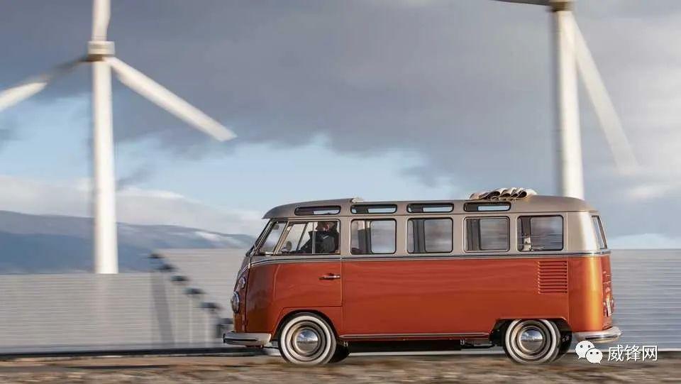 「概念车」大众推出经典巴士电动概念车:支持快充